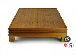 bamboo table go board